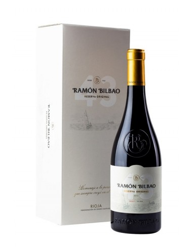 VINO RAMON BILBAO RESERVA ORIGINAL 75CL