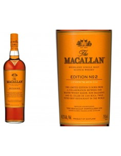 WHISKY MACALLAN Nº 2 EDITION 70 CL.