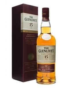 WHISKY THE GLENLIVET 15 AÑOS 70CL