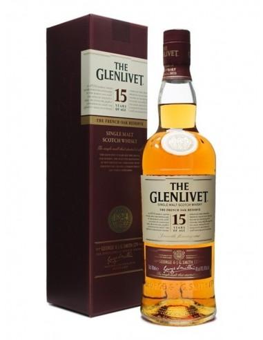WHISKY THE GLENLIVET 15 AÑOS 70CL
