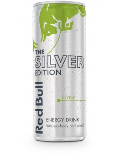 ENERGY DRINK RED BULL SILVER