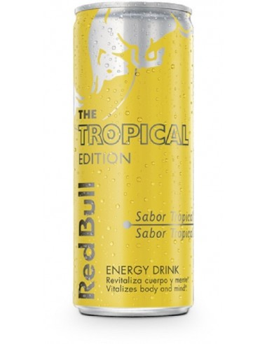 ENERGY DRINK RED BULL  TROPICAL