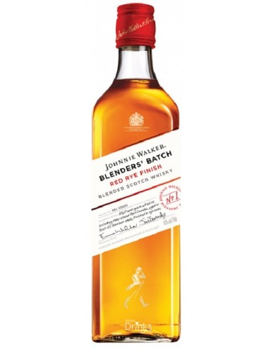 WHISKY JOHNNIE WALKER RED RYE FINISH 70CL