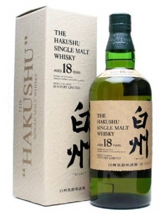 WHISKY HAKUSHU 18 AÑOS 70CL