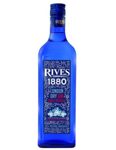 GIN RIVES  1880  70CL