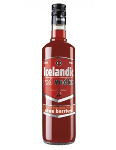 VODKA ICELANDIC ROJO 70CL