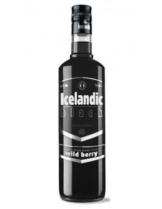 VODKA ICELANDIC BLACK 70CL
